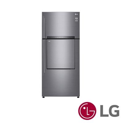 LG 525公升銀色 Smart 變頻上下門冰箱GN-DL567SV