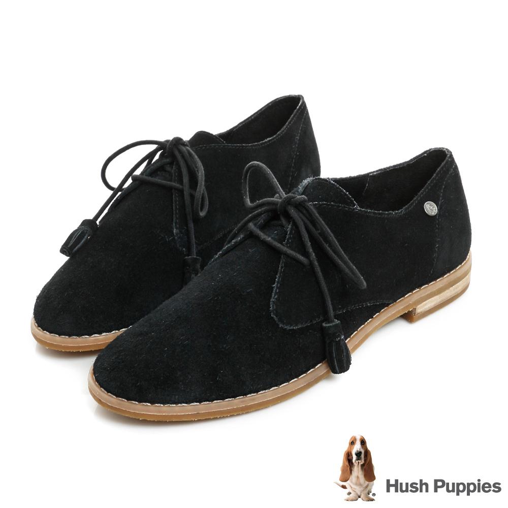 Hush Puppies CHARDON 牛津鞋-黑色