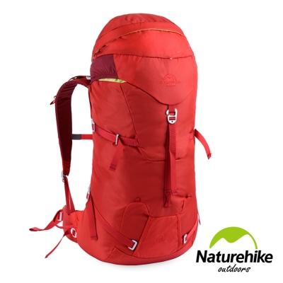 Naturehike 45+5L 行雲輕量透氣登山後背包 自助旅行包 紅色