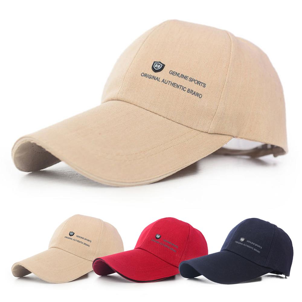 活力揚邑 加長帽檐防曬透氣22盾標棒球帽時尚百搭戶外運動帽遮陽帽鴨舌帽