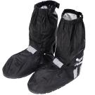 [快]JUMP新一代反光厚底雨鞋套-黑色