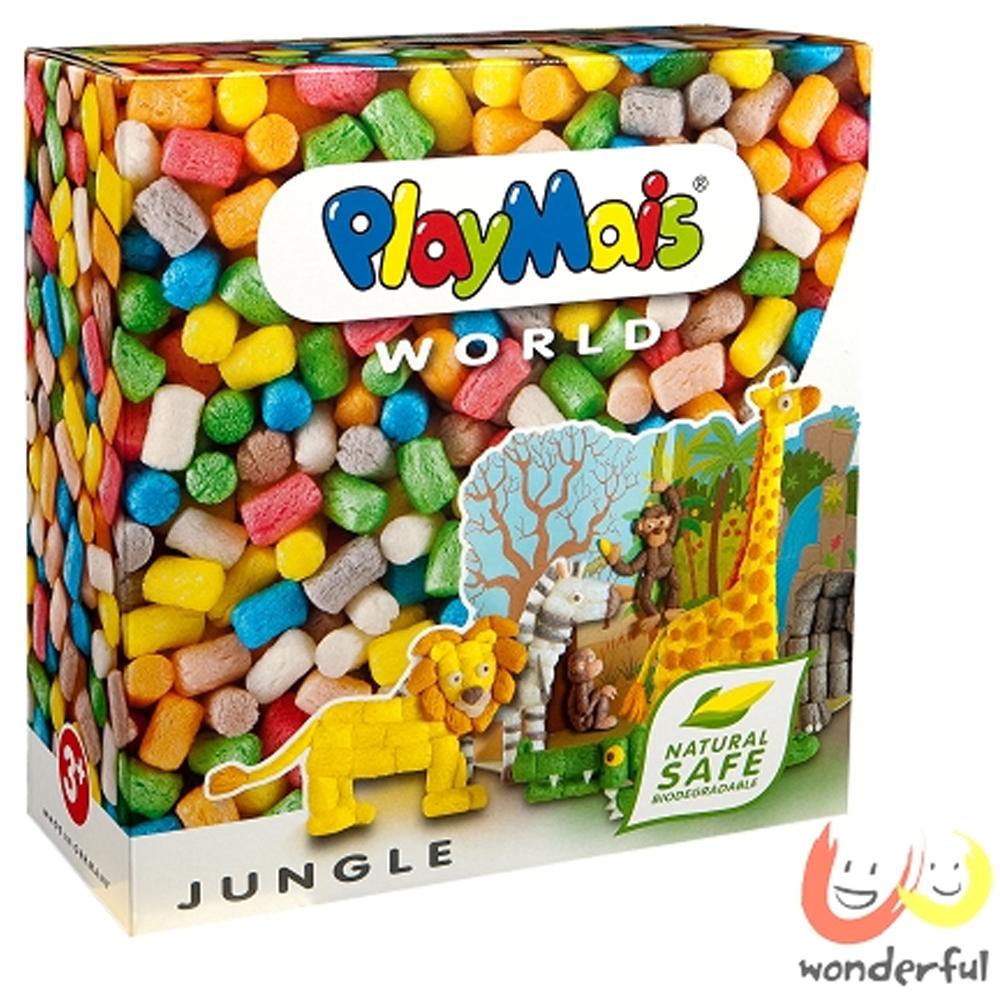 《Playmais》玩玉米創意黏土主題禮盒 - 動物叢林