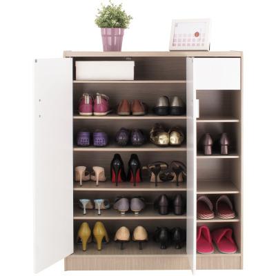 [時時樂限定] EASY HOME 雙門附小抽鞋櫃