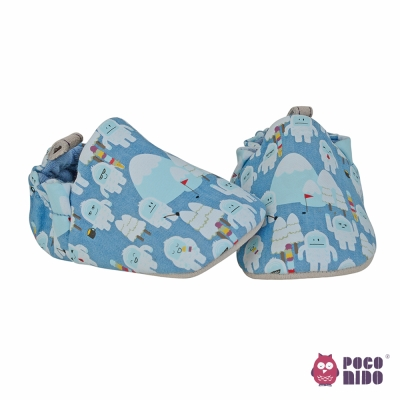 英國 POCONIDO 純手工柔軟嬰兒鞋 (小雪人)