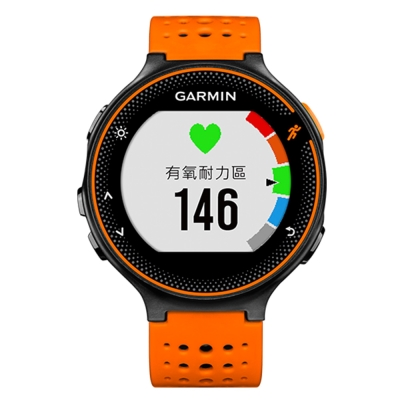 GARMIN Forerunner 235 GPS腕式心率跑錶-活躍橘