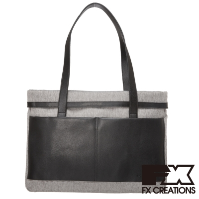 FX-CREATIONS-Kevone系列-大托特包-淺灰-KAI69685-21