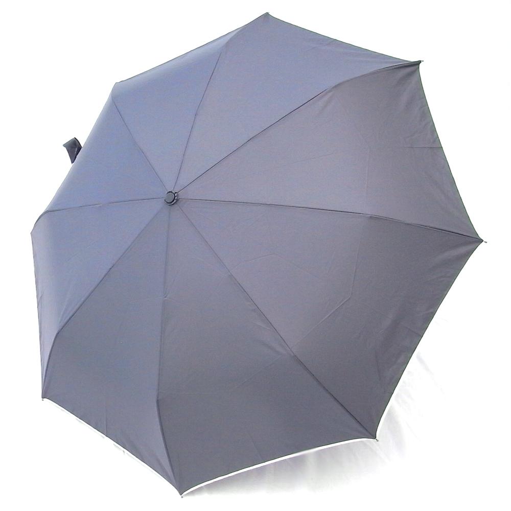 好傘王 日系大大自動開收傘(灰色)