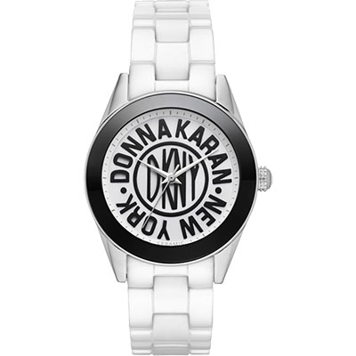 DKNY 紐約時尚25週年全球限量陶瓷腕錶-36mm
