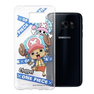 授權正版航海王 Samsung Galaxy S7 透明軟式手機殼(封鎖喬巴)