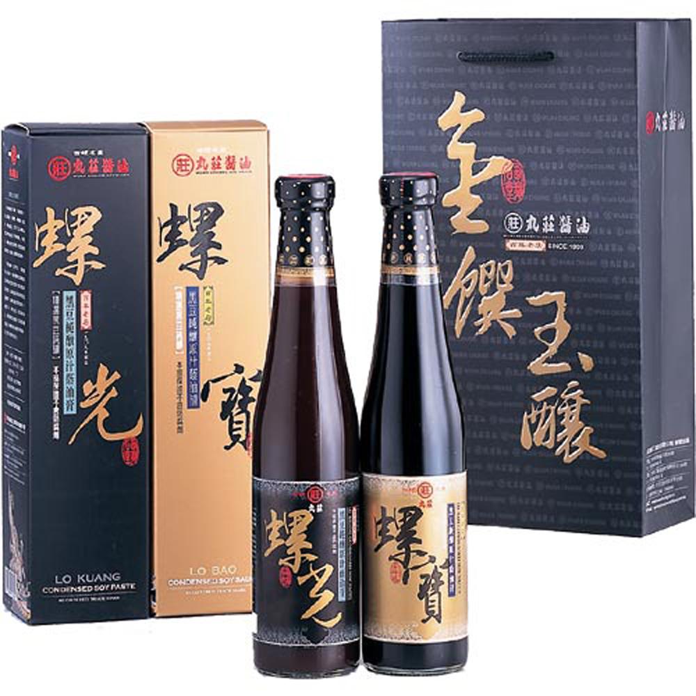 【丸莊醬油】金饌玉釀禮盒-2入3組