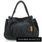 RABEANCO OL時尚粉領系列柔軟肩背包 黑