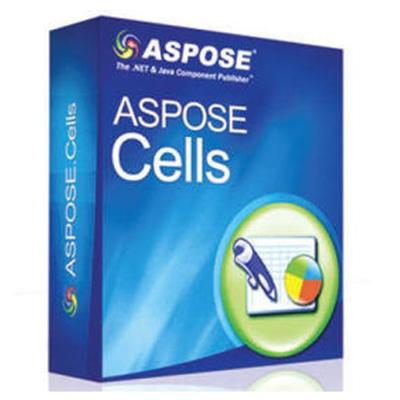 Aspose Cells for .NET (程式開發) (下載版)