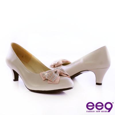 ee9-唯美名伶-A級水鑽秀氣小羊皮高跟鞋-俏麗米