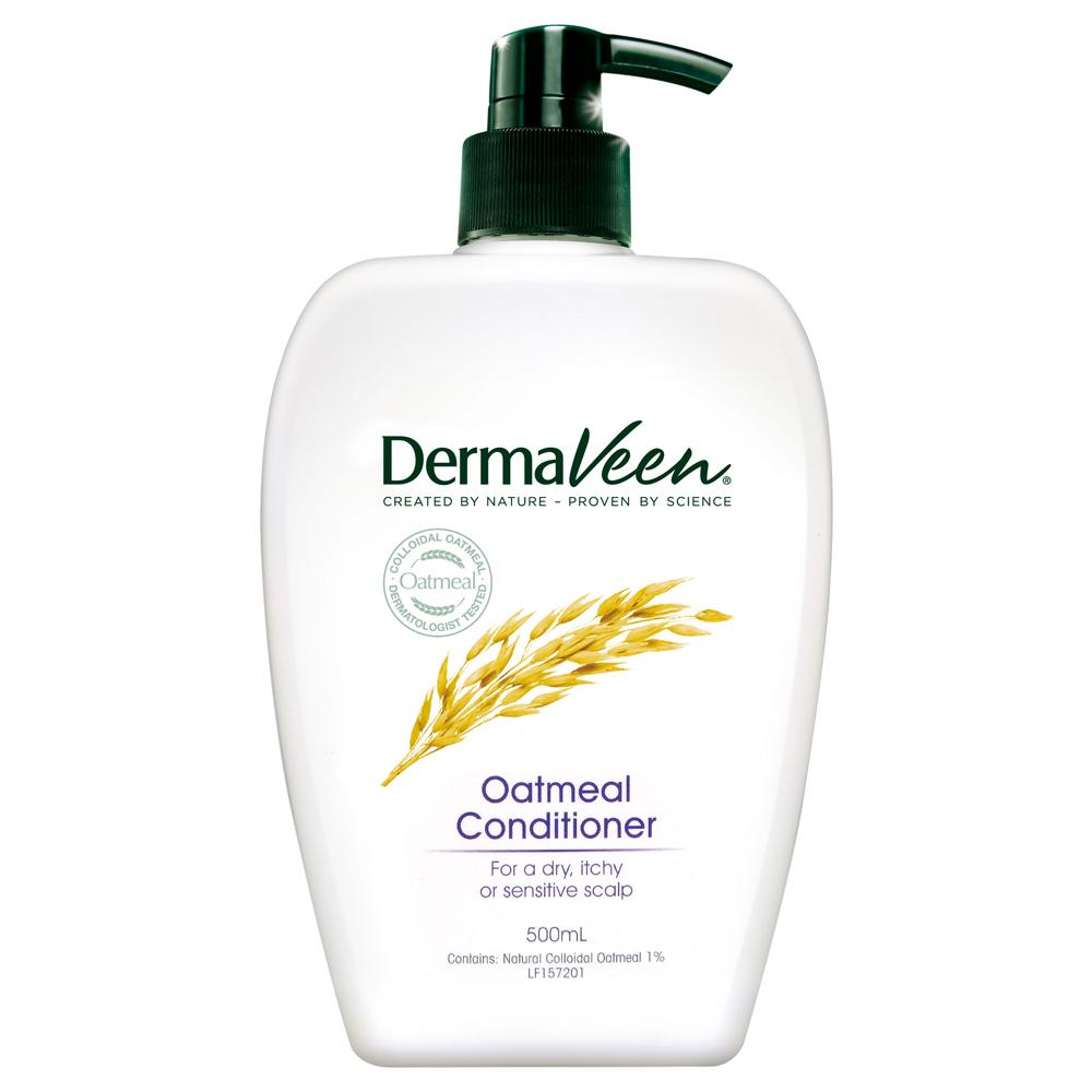 Dermaveen得麥膚 燕麥全效舒緩潤髮乳(500ml/瓶)