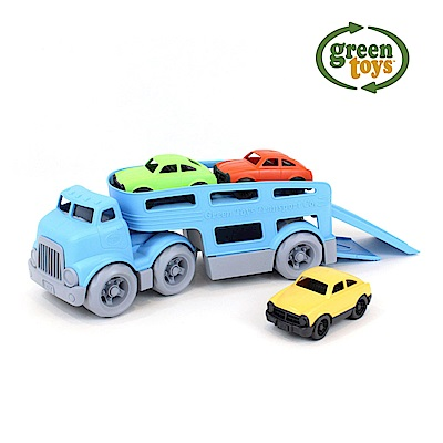 美國【greentoys】甩尾鱷運輸拖車