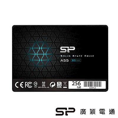 SP廣穎 A55 256GB 小資聰明升級 2.5吋 SATAⅢ固態硬碟