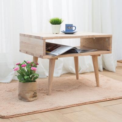 諾雅度 原生實木2尺置物櫃(低腳/無抽屜)