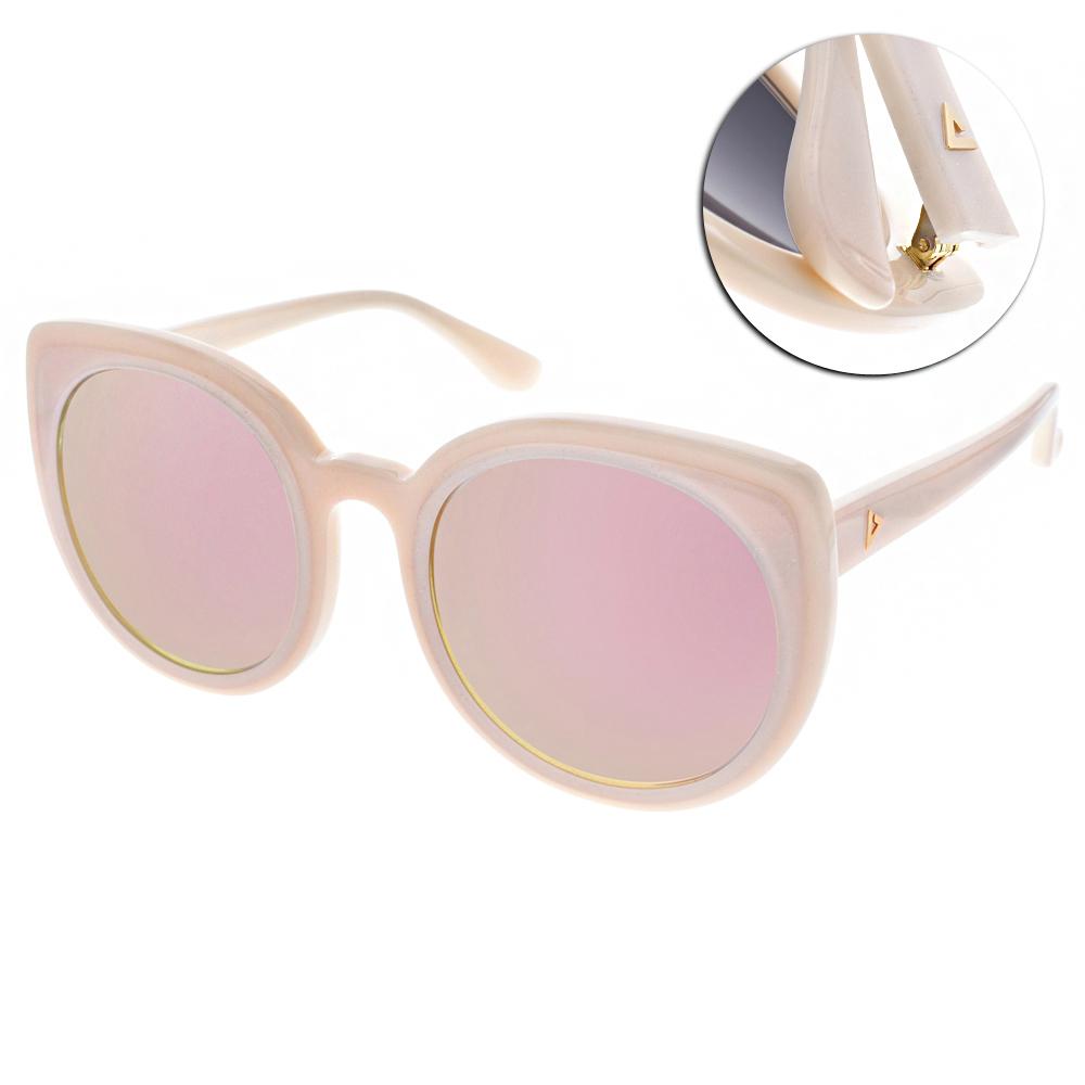 STEPHANE CHRISTIAN太陽眼鏡 貓眼款/粉-粉水銀#REMUSE C21