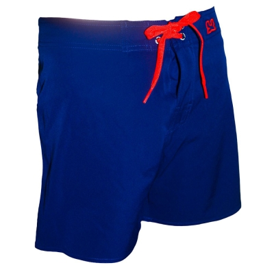 WAXX NAVY素色高質感吸濕排汗男性海灘褲
