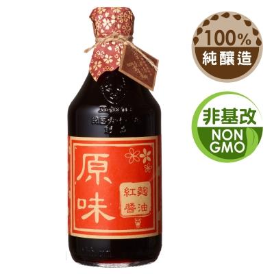 豆油伯 原味紅麴醬油(500ml)