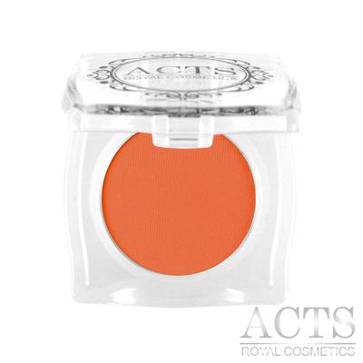 ACTS維詩彩妝 霧面純色眼影 甜柿橘A215