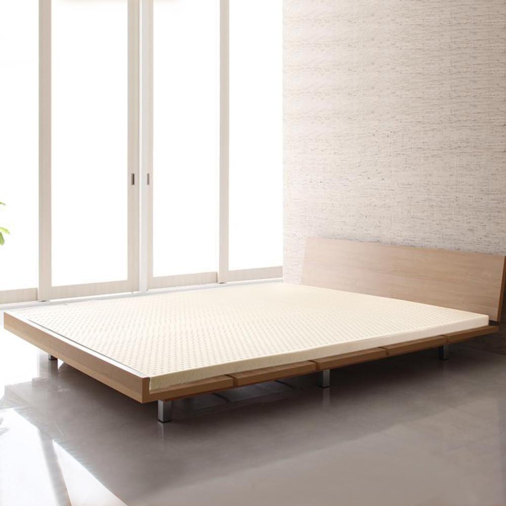 LooCa 旗艦網布5cm天然乳膠床墊-單人加大3.5尺