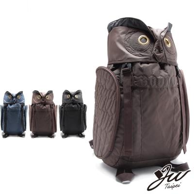 JW-後背包-叢林野戰貓頭鷹造型後背包-大版-共三