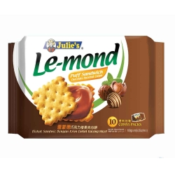 Julies茱蒂絲 雷蒙德巧克力味夾心餅(180g)