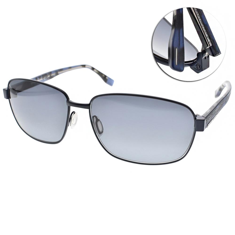 HUGO BOSS太陽眼鏡 飛官款/深藍#HB0649FS OJUHD