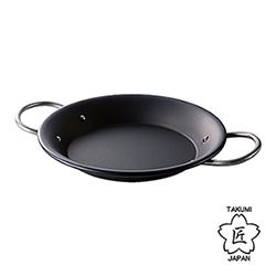 日本TAKUMI匠 岩紋西班牙燉飯鐵鍋
