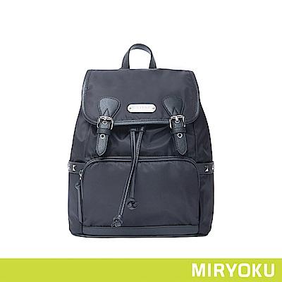 MIRYOKU 時尚休閒系列 / 簡約休閒尼龍後背包(共3色)