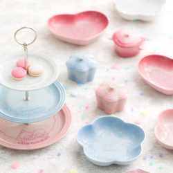 LE CREUSET x LittleTwinStars瓷器三層蛋糕架
