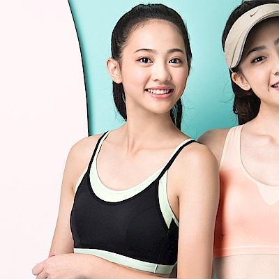 嬪婷- 五星專利 M-LL 細帶運動背心 (黑)冰涼紗-吸濕排