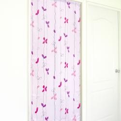 布安於室-落葉遮光風水簾-紫色