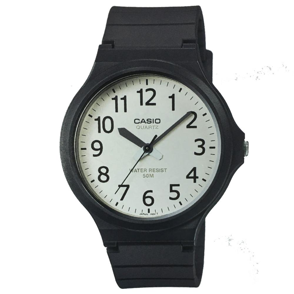 CASIO 超輕薄感實用必備大表面指針錶-(MW-240)-多色任選/45mm product image 1