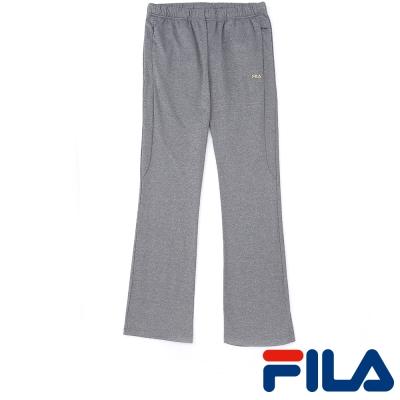 FILA女性吸排內刷毛長褲-質感灰-5PNP-5457-RG