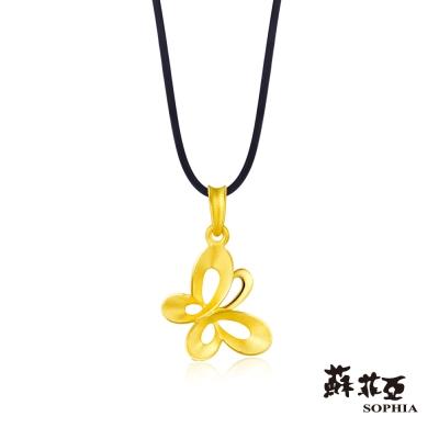 蘇菲亞SOPHIA - G LOVER系列Butterfly黃金項鍊