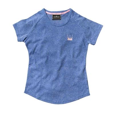 DADA-SUPREME-涼感輕薄LOGO-T-shirt-女-麻花紫