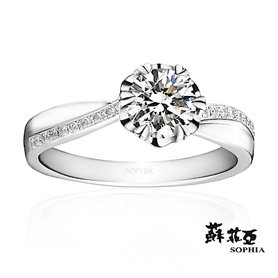 蘇菲亞 SOPHIA - 花嫁1.00克拉FVS2鑽石戒指