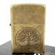 【ZIPPO】美系~Tree of life-生命之樹仿古鍍黃銅打火機 product thumbnail 1