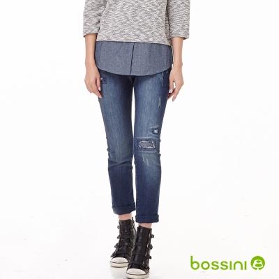 bossini女裝-貼身牛仔褲03海軍藍