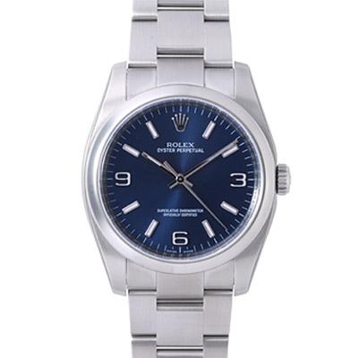 ROLEX 勞力士 Oyster Perpetual 116000 蠔式恆動腕錶-藍/36mm
