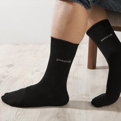 源之氣 竹纖維紳士襪/黑色 6雙組 RM-30054