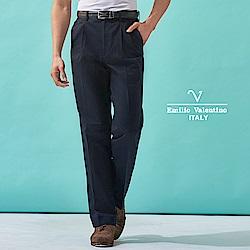 Emilio Valentino 雅致品味商務推薦長褲_藍(77-8A1010)