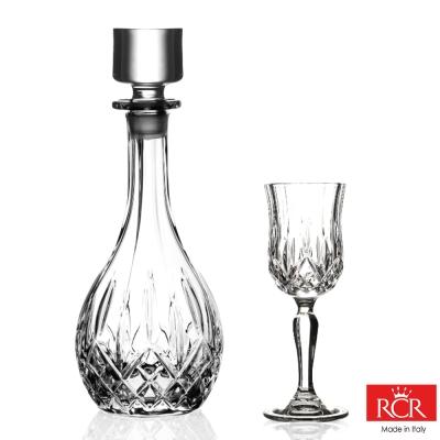 義大利RCR歐普拉無鉛水晶葡萄酒瓶 900cc