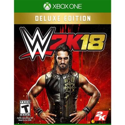WWE 2K18 - XBOX ONE 亞洲 豪華英文版