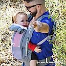 【法國 je porte mon bebe 】JPMBB 四季嬰兒揹帶,象灰