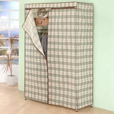 《百變金鋼》120*45*180多功能防塵衣櫥架