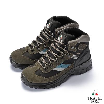 TRAVEL FOX(男) 歐洲進口戶外登山鞋-深灰色