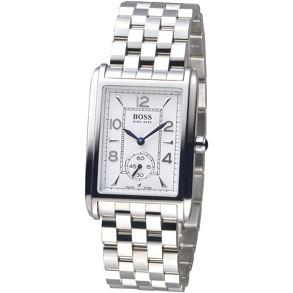 HUGO BOSS 獨立小秒錶盤個性時尚男錶(R11/2111)/28mm